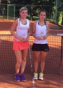 U16 weiblich: Alice Radde, Tamara Kordick