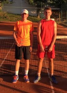U16 männlich: Noah Stiegeler, Gabriel Rauch