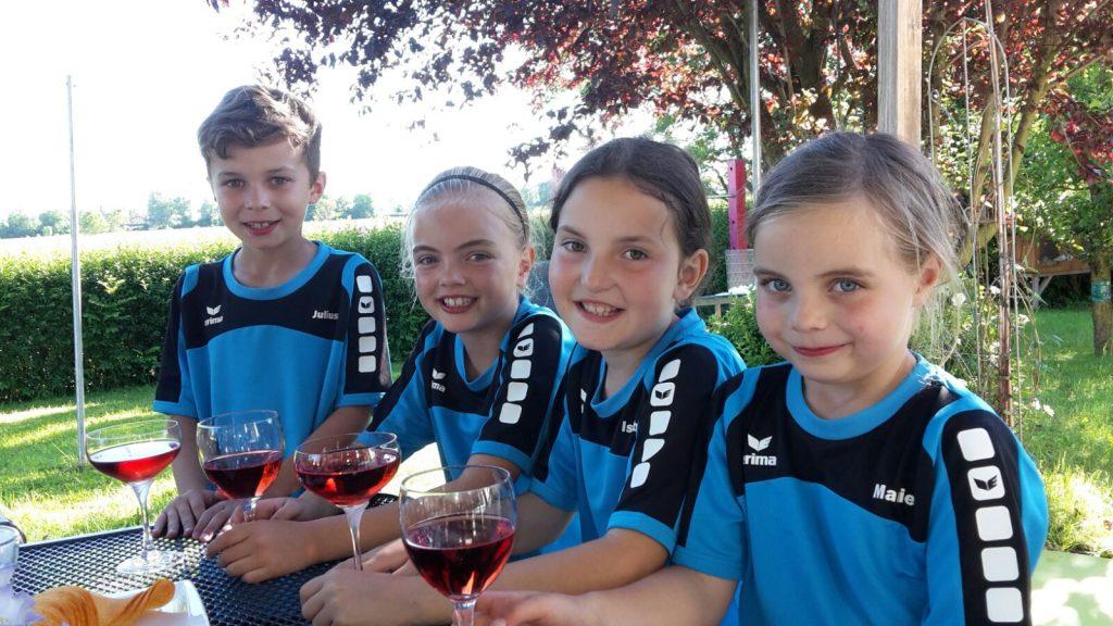 Das Meisterteam der Bambini 9